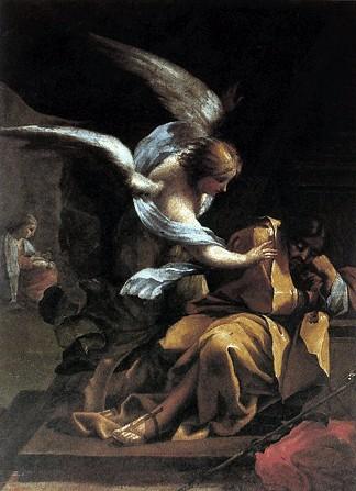 L'annonce à Joseph dans images sacrée 359-il-sogno-di-san-giuseppe-di-francisco-goya-177072-olio-su-intonaco-trasferito-su-tela-museo-de-bellas-artes-saragozza